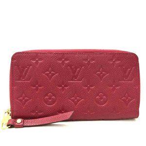 💯Auth Louis Vuitton Empreinte Organizer/Wallet